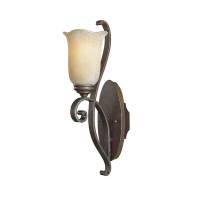 Feiss Tuscan Villa 1 Light Arm Wall Sconce Lamp