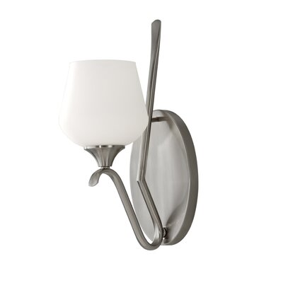 Feiss Merritt One Light Wall Sconce in Brushed Steel