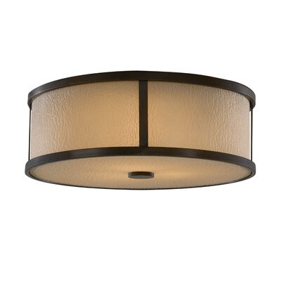 Feiss Preston 3 Light Flush Mount