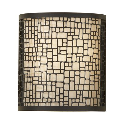 Feiss Joplin One Light Wall Sconce in Light Antique Bronze