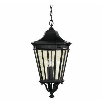 Feiss Cotswold Lane 3 Light Outdoor Hanging Lantern