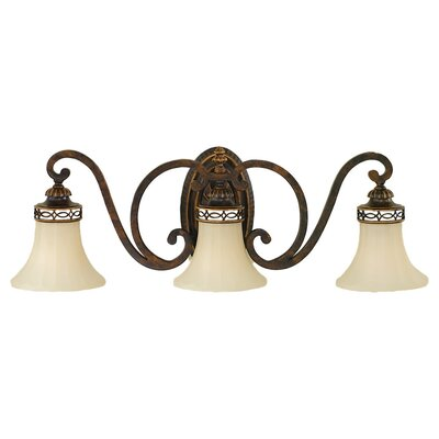Feiss Edwardian 3 Light Vanity Light