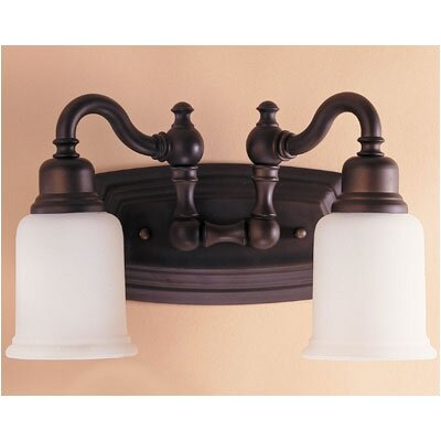 Feiss Canterbury  Vanity Light in Oil Rubbed Bronze