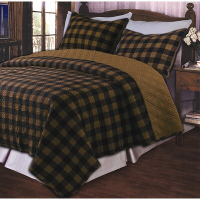 Western Plaid Quilt Set