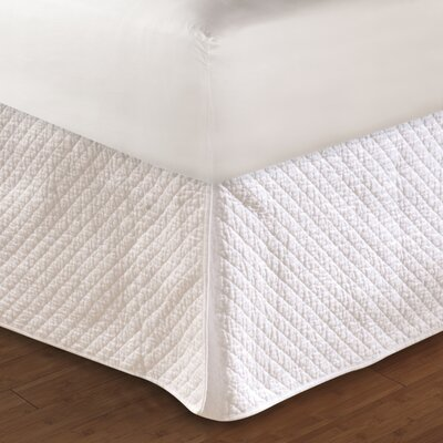 Greenland Home Fashions Diamond Cotton Quilted Bed Skirt