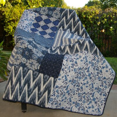Santorini Cotton Throw