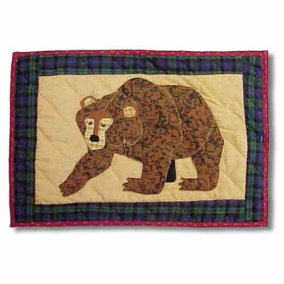 Cabin Bear Placemat (Set of 4)