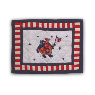 Colonial Santa Standard Pillow Sham