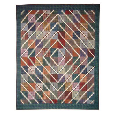 Rocky Top Cotton Throw Quilt