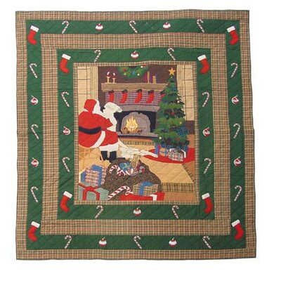 Patch Magic Santa By The Fireside Duvet Cover / Comforter