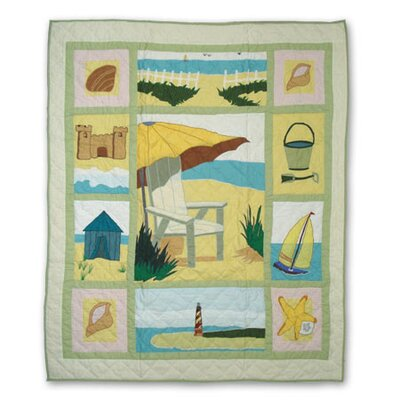 Patch Magic Ocean View Throw Quilt