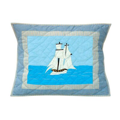 Patch Magic Sailor's Delight Standard Pillow Sham