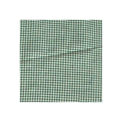 Patch Magic Green and White Gingham Checks Napkin (Set of 4)