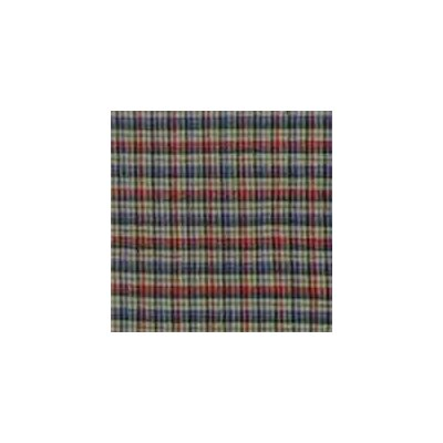 Tan and Blue Plaid Red Pink Line Pillow Sham