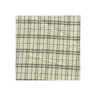 Patch Magic Green Dark with Cream Plaid Pillow Sham