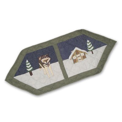 Patch Magic Wolf Table Runner