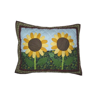 Patch Magic Sun Burst Pillow Sham