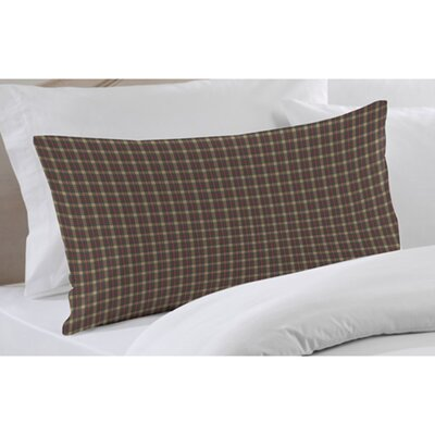 Patch Magic Cream Tartan Plaid Fabric Pillow Sham