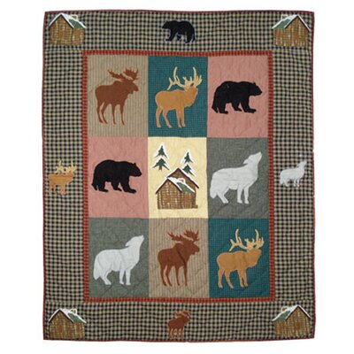 Winter Trails Cotton Throw