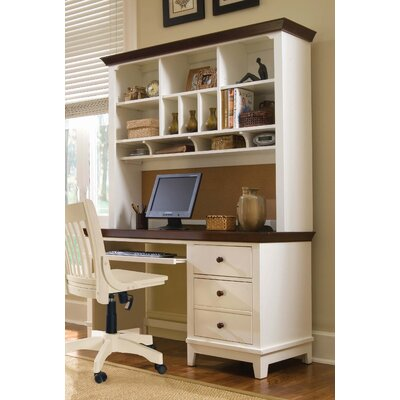 American Drew Sterling Pointe Computer Desk with Hutch