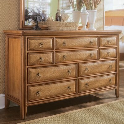 American Drew Antigua 10 Drawer Dresser