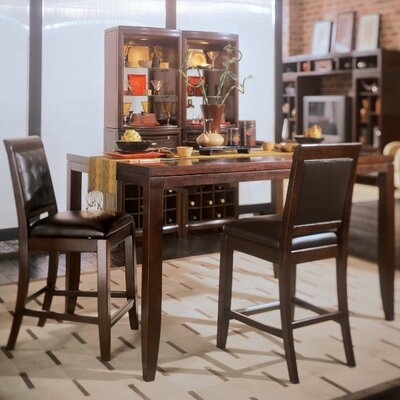 American Drew Tribecca 5 Piece Counter Height Dining Set