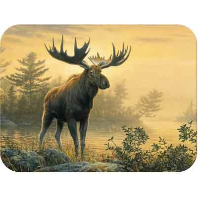 Tuftop Northwoods Moose Cutting Board