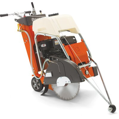 "Husqvarna 13 HP 18""  Blade Diameter Walk Behind Concrete Saw"