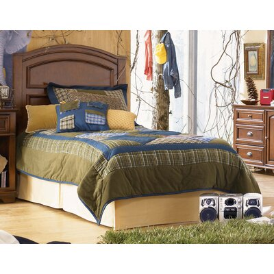 Lea Industries Deer Run Panel Headboard with Metal Frame on Casters
