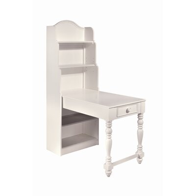 Lea Industries Hannah Bookcase Writing Desk with Hutch