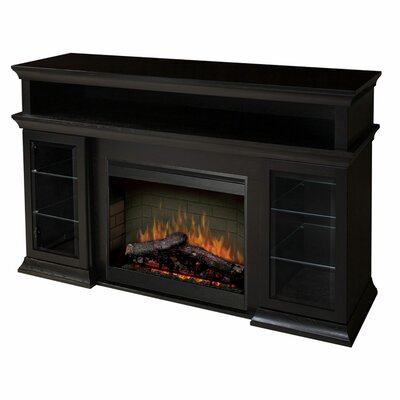 "Dimplex Bennett 66"" TV Stand with Electric Fireplace"