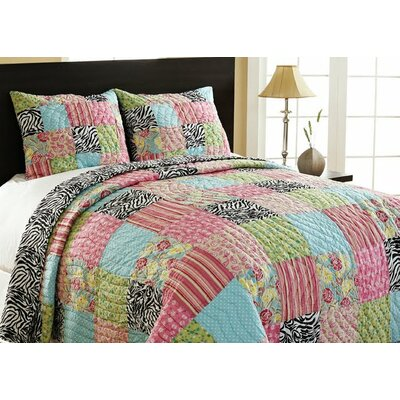 Amity Home Zebra Patchwork Set