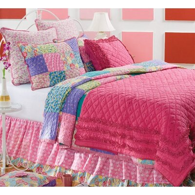 Amity Home Pink Chelsea Quilt Collection