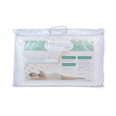 Serta Mattress Pure Response Latex Extra Firm Support Pillow
