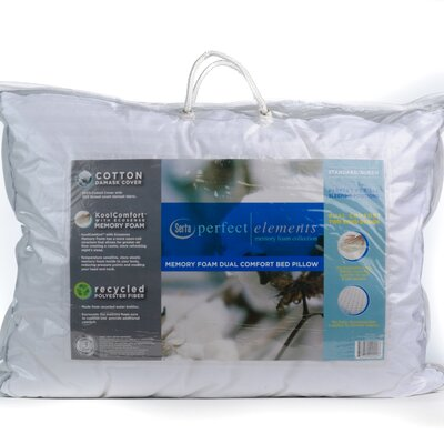 Serta Mattress Perfect Elements Dual Comfort Cotton Pillow