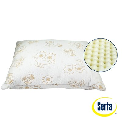 Serta Mattress Nickelodeon SpongeBob SquarePants Memory Foam Standard Pillow