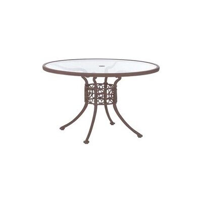 "Woodard Landgrave Chateau 48"" Round Umbrella Table"