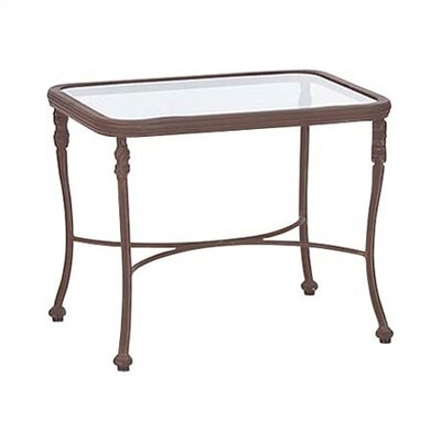 Woodard Landgrave Chateau Rectangular Side Table