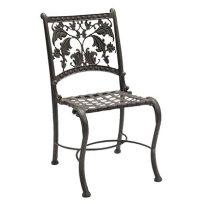 Woodard Landgrave Old Gate Bistro Dining Side Chair with Cushion