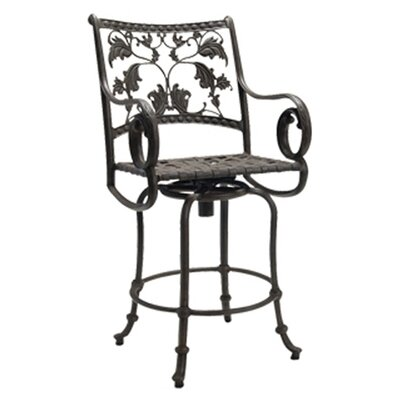 Woodard Landgrave Old Gate Swivel Counter Stool