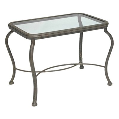 Woodard Landgrave Old Gate Rectangular Side Table