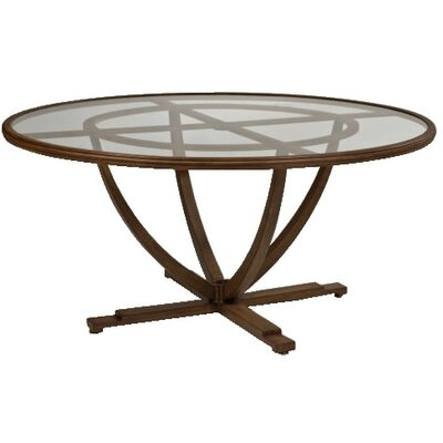 "Woodard Landgrave Vienna 60"" Round Umbrella Table"