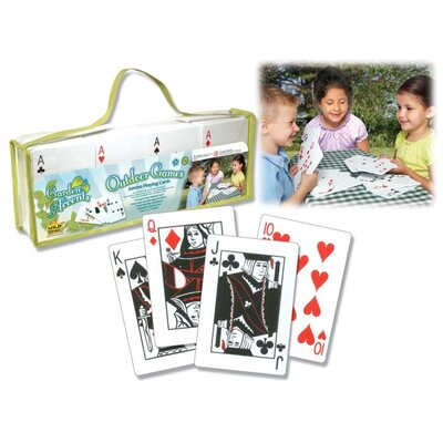 Wild Republic Outdoor Games Jumbo Playing Cards