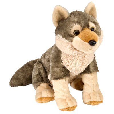 Wild Republic Cuddlekin Wolf Plush Stuffed Animal