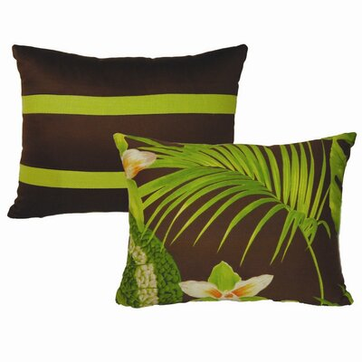 Rose Tree Linens Rainforest Pillow