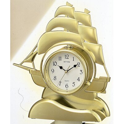 Rhythm U.S.A Inc Sailing Ship Clock