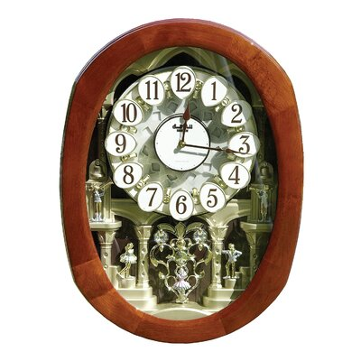 Rhythm U.S.A Inc Grand Encore Legend Wall Clock