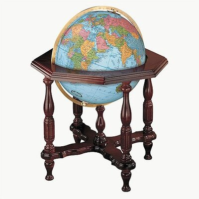 Replogle Globes Statesman Blue Illuminated World Globe