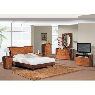 Global Furniture USA New York Platform Bedroom Collection
