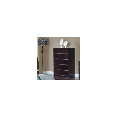 Global Furniture USA Aurora 5 Drawer Chest